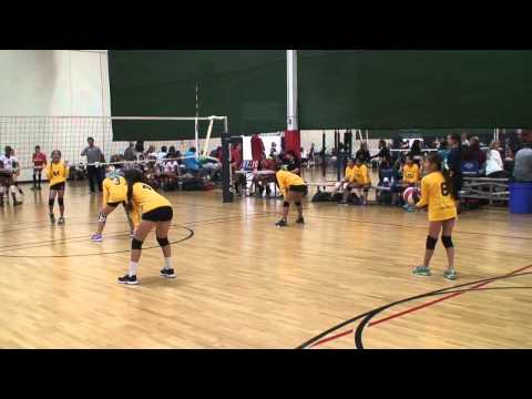 Offshore Volleyball 12-2 vs SG Elite 12 (Match 2) 3/22/15 (W)