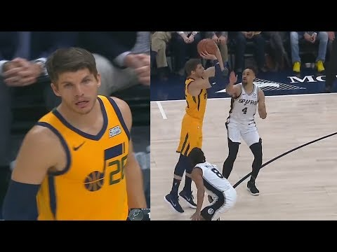Kyle Korver MAKES THE CAVS REGRET TRADING HIM & GETS STANDING OVATION FROM JAZZ CROWD!
