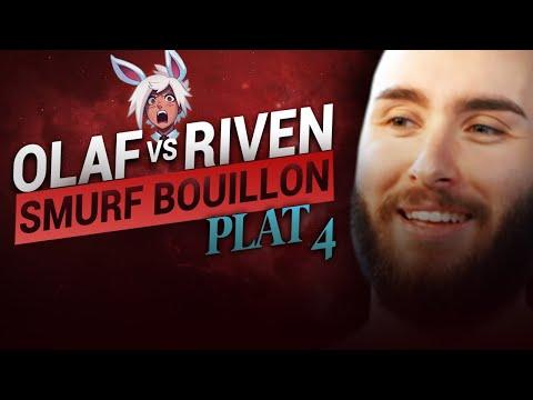 Vidéo d'Alderiate : ALDERIATE & AKABANE - SMURFING BOUILLON - OLAF VS RIVEN - PETIT CHOKE LVL 1