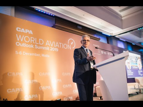 Chairman Dr Charles Mangion's Key note speech at the Capa World Aviation Outlook Summit 2019