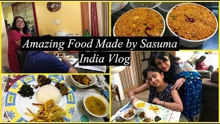 India Vlog Sasuma Made Mouthwatering Food For Us Simple Living Wise Thinking