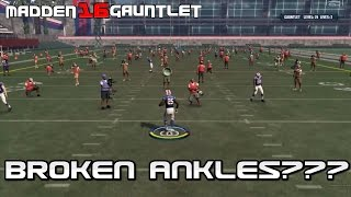 LESEAN McCOY JUKES OUT REPORTER! Madden 16 Gauntlet Gameplay