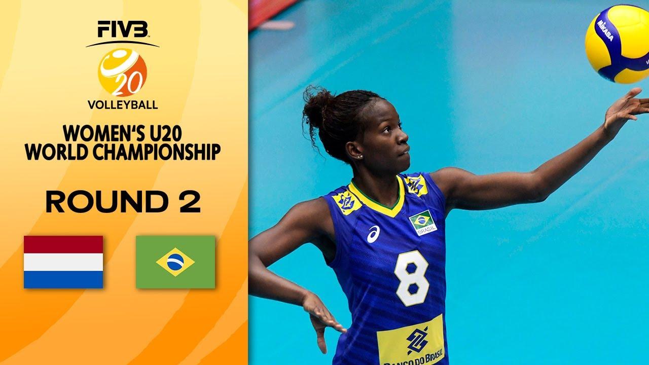 Download NED vs. BRA - Full Match | Round 2 | Women's U20 Volleyball World Champs 2021