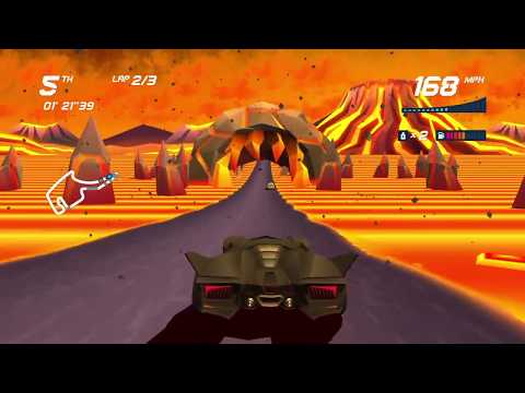 Horizon Chase Turbo: Final Challenge + Ending With Night Rider