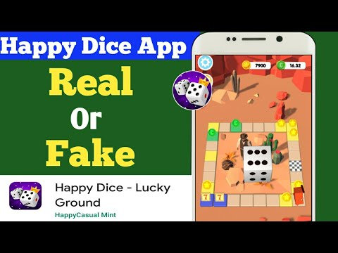 Happy Dice App Review Happy Dice App Real Or Fake Happy Dice App Payment Proof Free Paypal Cash Youtube