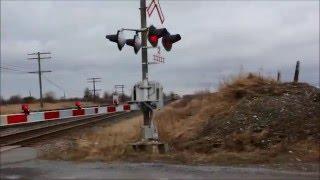 3 Very Fast Via Trains at Trenton