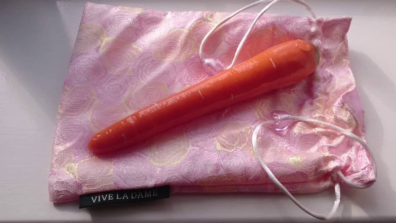 Carrots as dildo