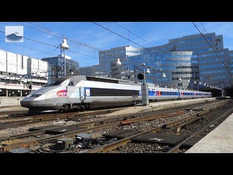 TGV 8115/8915 au départ de Paris Montparnasse