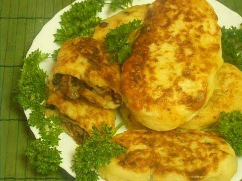 Картофельные зразы с грибами. Рецепт