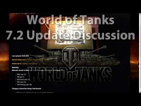 UKMDTV World Of Tanks 7.2 Update FULL Review EP6