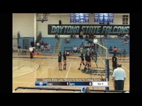 Daytona State Lady Falcons Vs Santa Fe College Saints