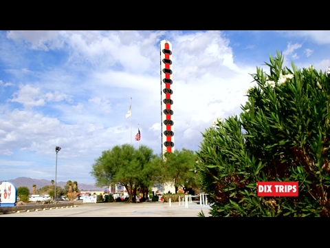 WORLD'S TALLEST THERMOMETER: Baker, CA (DIX TRIPS - Vol.49)