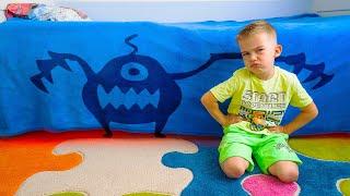 Артур и Монстр под кроватью который дарит сюрпризы