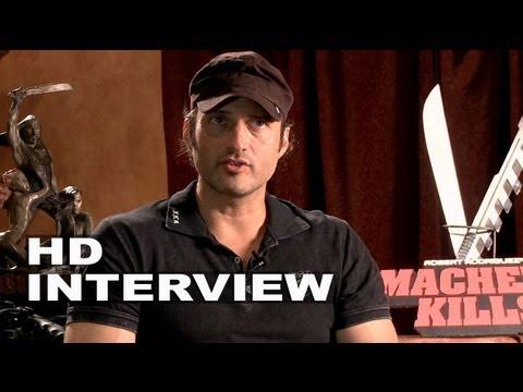 Machete Kills: Director Robert Rodriguez Official Movie Interview