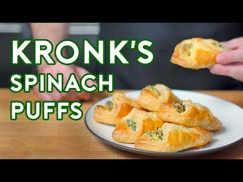 Binging with Babish: Spinach Puffs from The Emperors New Groove