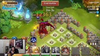 New Grimfiend SKIN Crimson Demon Super Cool Proc Castle Clash
