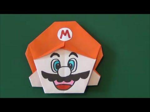 折り方 ますの折り方 : Super Mario Origami