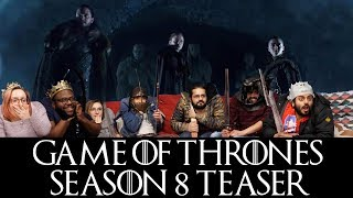 Game of Thrones Seaons 8 Teaser: Crypts of Winterfell - Offical Trailer - Group Reaction!