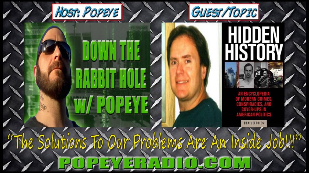 Author Donald Jeffries Hidden History An Expose Of Modern Crimes Conspiracies Cover Ups