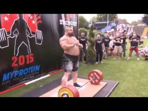 Eddie Hall does new Deadlift World Record 463KG - 1020lbs