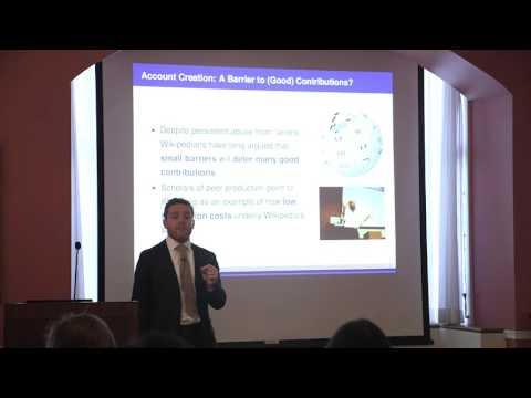 ANN-SONIC-NICO Workshop 2015 - Aaron Shaw & Benjamin Mako Hill Presentation