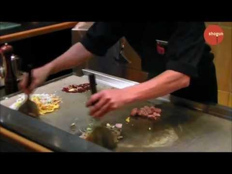 Shogun Japanese Restaurant - Teppanyaki Show
