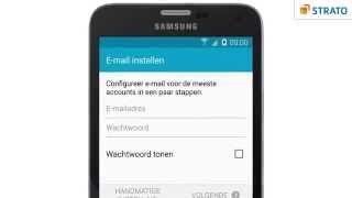 E-mail instellen op je Android-toestel