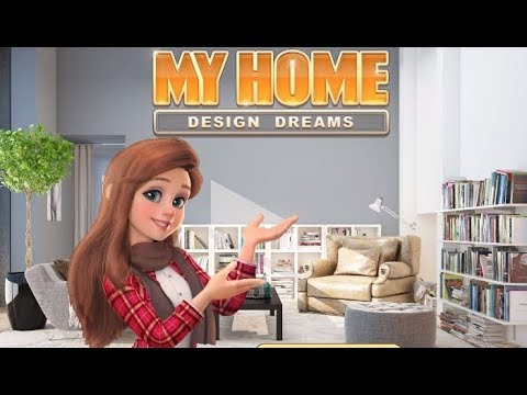 My Home Design Dreams - design your own house! game video
