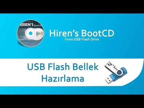 Hiren's BootCD USB Bellek Hazırlama
