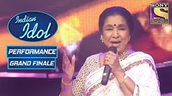 Asha   Performance Indian Idol Season 6 Grand Finale
