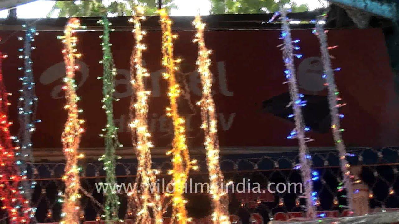 diwali lights up delhi markets
