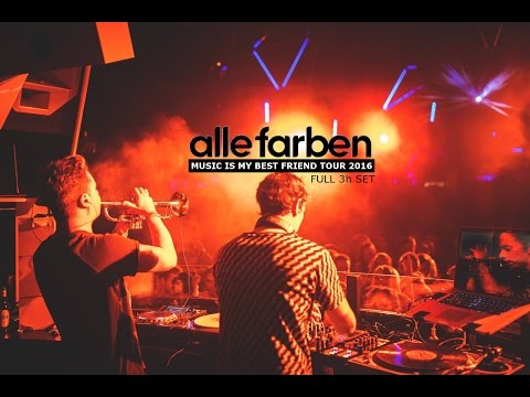 ALLE FARBEN [FULL 3h SET] - Music Is My Best Friend Tour 2016 @ Bootshaus
