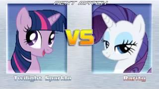 My brother team list (Left side) Twilight Sparkle Pinkie Pie Flutte...
