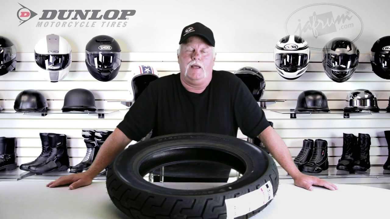 dunlop d401 harley davidson rear motorcycle tire review jafrumcom youtube
