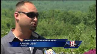 Maine farmers dealing with drought conditions