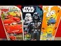 Disney Cars - Star Wars & Despicable Me 12 Surprise Surprise Capslules