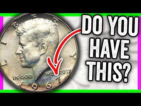 HOW MUCH IS A 1967 HALF DOLLAR WORTH? KENNEDY HALF DOLLAR ERROR COINS WORTH MONEY
