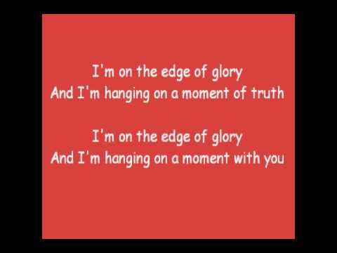 Lady Gaga - Edge of Glory Lyrics