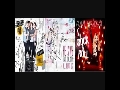 5SOS vs. Avril Lavigne vs. He Is We feat. Owl City - All About Perfect Rock