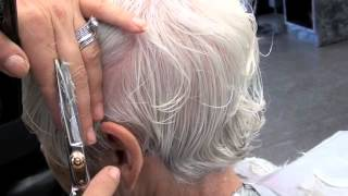 Haircut short layers 90 degree for beginners