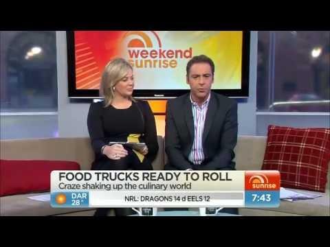 Sydney Food Trucks on Weekend Sunrise