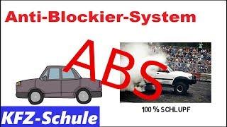 Anti-Blockier-System (ABS) - Erklärung