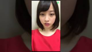 橋本環奈 LINE LIVE #7「銀魂」初日舞台裏レポート LINE LIVE 2017/07/1...