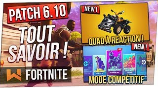 Patch 6.10: New Competitive Mode - New Vehicle Fortnite Battle Royale