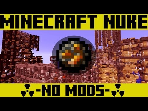 minecraft how to make a nuke with command blocks