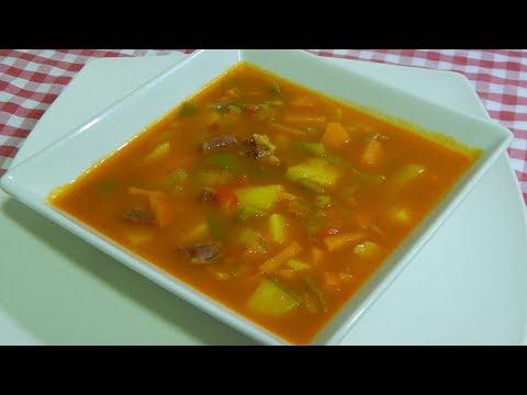Cómo hacer una deliciosa sopa campera de verduras muy fácil