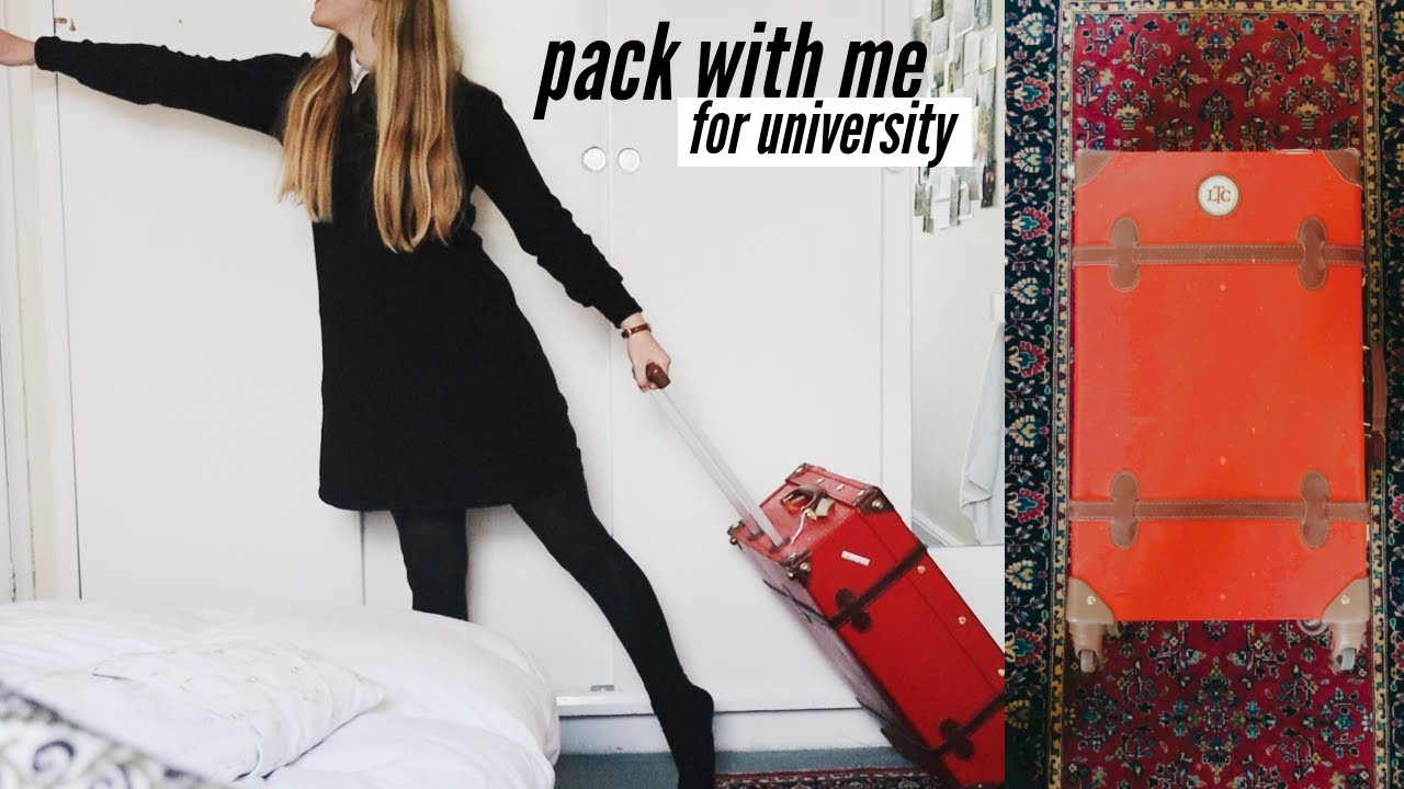 Pack With Me for University!