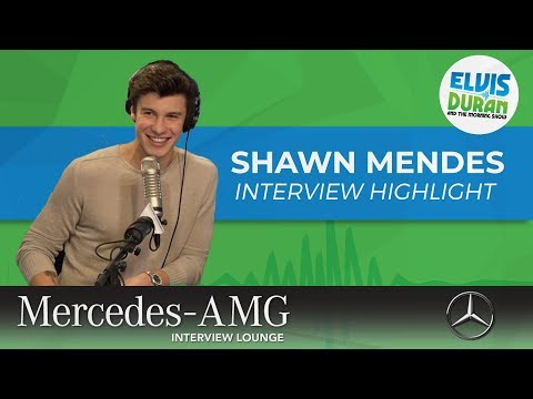 The Moment Shawn Mendes Met Adam Rippon | Elvis Duran Interview Highlight