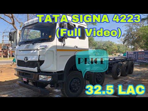 4223 TATA SIGNA REVIEW CHASIS