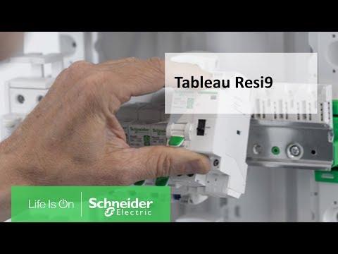 Nouveau tableau électrique Resi9  Schneider Electric !